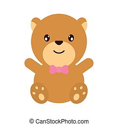 bear teddy stuffed cute icon
