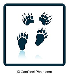 Bear trails icon