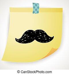 beard doodle