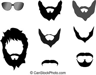 Beard - A set of beard.