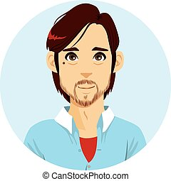 Beard Man Avatar