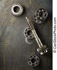 Bearing and gear