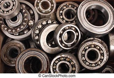bearing background - nice bearing technological background...