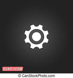 Bearing flat icon