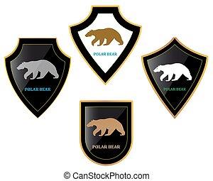 Bears and shields