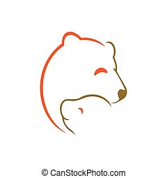 Bears Logo Template