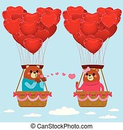Bears Love Kisses Valentine