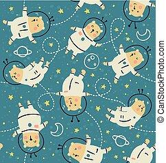 bearstronauts pattern