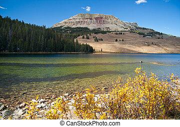 beartooth, 湖, montana, 美國