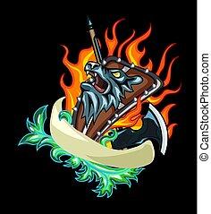 Beast Shield Emblem
