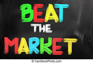 Beat The Market Concept