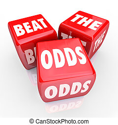 Beat the Odds - Three Red Dice