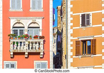 Rovinj, Istria, Croatia - Beatifull house with balcony in...