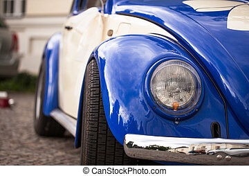 beatle, detail, vw