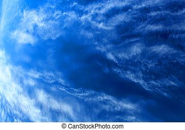 beaty blue sky