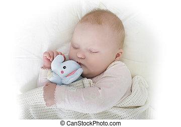 beau bébé, dormir
