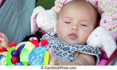 beau bébé, girl, séance