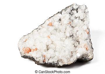 beau, blanc, quartz