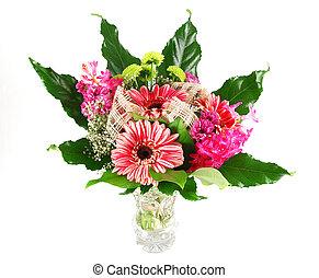 beau, bouquet, fleur