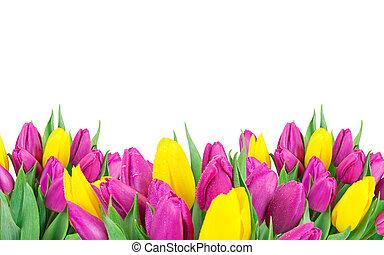 beau, bouquet, flowers.