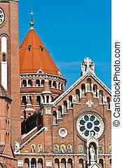 beau, cathédrale, éléments, artistique