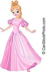 beau, conte fées, princesse