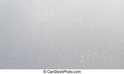 beau, ensoleillé, neige, jour
