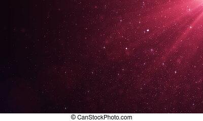 beau, fait boucle, dynamique, flotter, rose, lent, particules, animation, noir, 3840x2160, rouges, 3d, motion., bokeh., fond, poussière, hd, flamme, air, 4k, ultra, vent