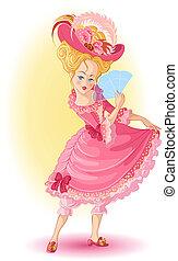 beau, girl, princesse, fée-conte