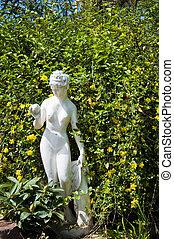 beau,  girl,  sculpture