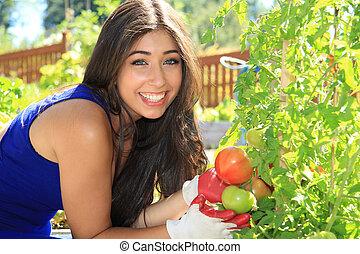 beau, jardinier