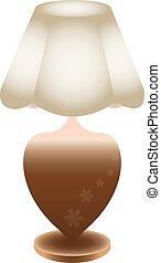 beau, lampe table