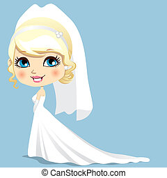 beau, mariée