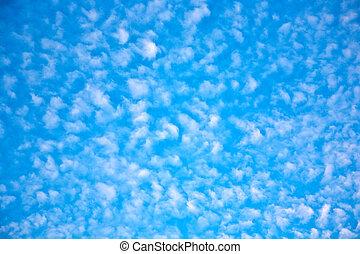 beau, nuages, ciel