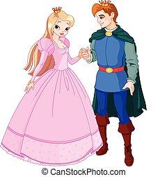 beau, prince, princesse