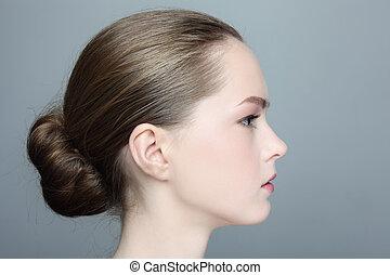 beau, profil