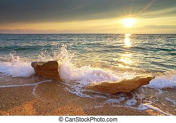 beau, seascape.
