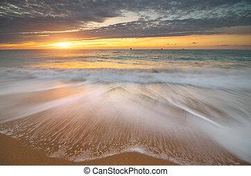 beau, seascape., .