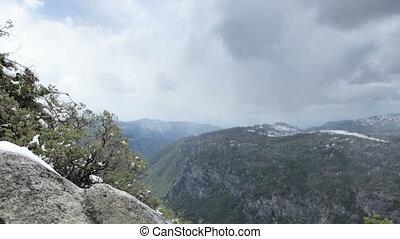 beau, usa, parc national, californie, paysage, yosemite