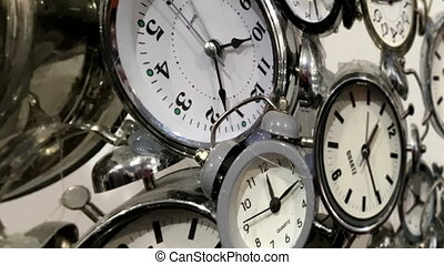 beaucoup, clocks, coup, chariot