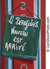 Beaujolais nouveau - New Beaujolais wine is out