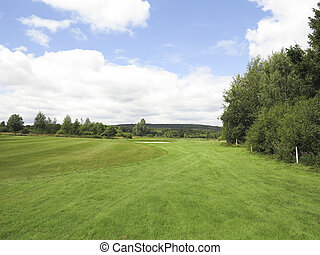Beauriful golfcourse