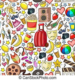 beauté, shopping., bande, vente, icônes, achats, discount.,...
