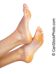 Beautiful woman feet. - Beautif Beautiful woman feet. ...