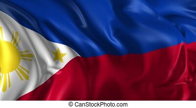 Flag of Philippines - Beautiful 3d animation of The Flag of...