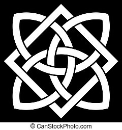 Beautiful 4 point Celtic knot