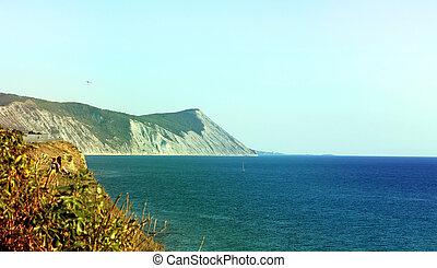Beautiful a seascape
