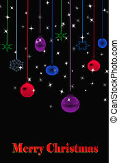 background of Christmas lights