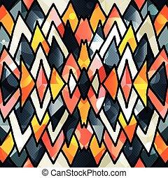 Beautiful abstract gentle graffiti pattern vector ...