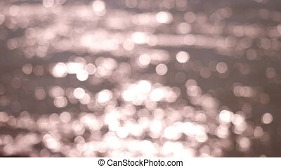 Beautiful abstract glittering lights bokeh background
